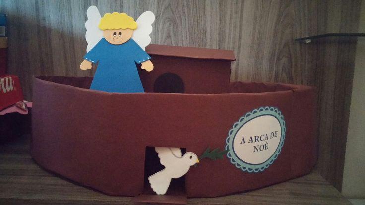 Anjo e pomba branca da Arca de Noé ❤