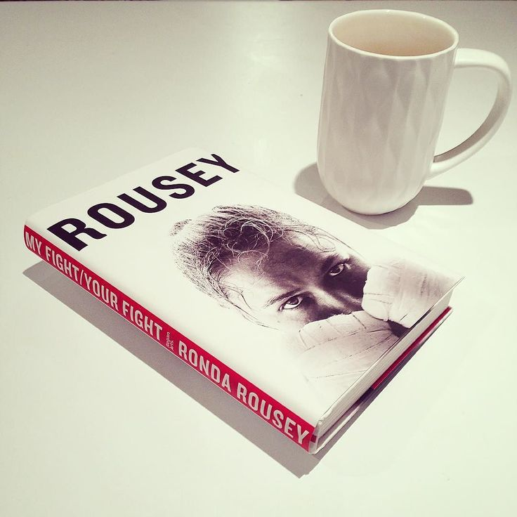 Ronda Rousey is a force to be reckoned with. Your Fight / My Fight is a book that inspires the inner fighter in us all. She instills the mindset it takes to win and be a champion. Her story is incredible and I have so much respect for her. Definitely an inspiring and empowering book that everyone should read. She is going to kill it tonight in her fight and I'm so happy for her. #andSTILL #rondarousey #myfightyourfight #livingbeyond