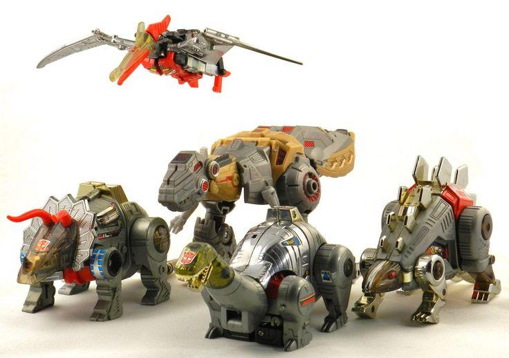 Dinobots fall of cybertron toys