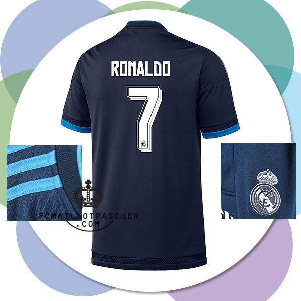 Magasins Officielle tenue Real Madrid Ronaldo 2016 third tissu pas cher