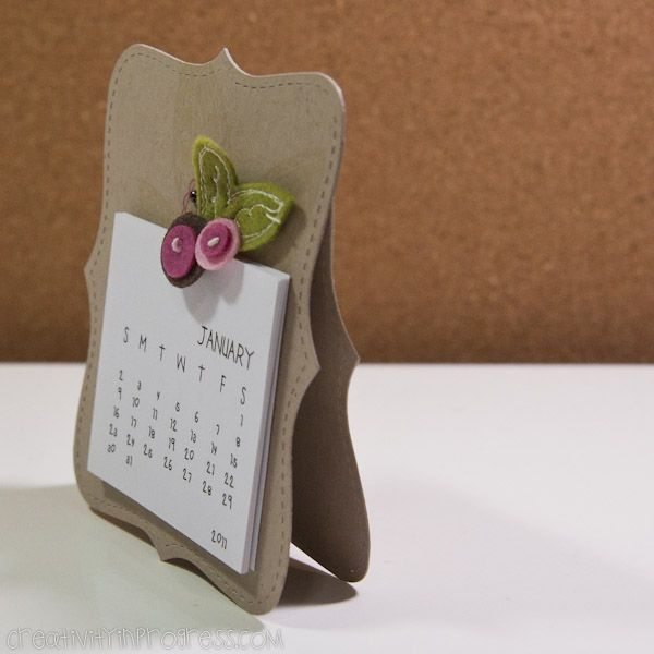 2011 Calendar Cards » Creativity in progress