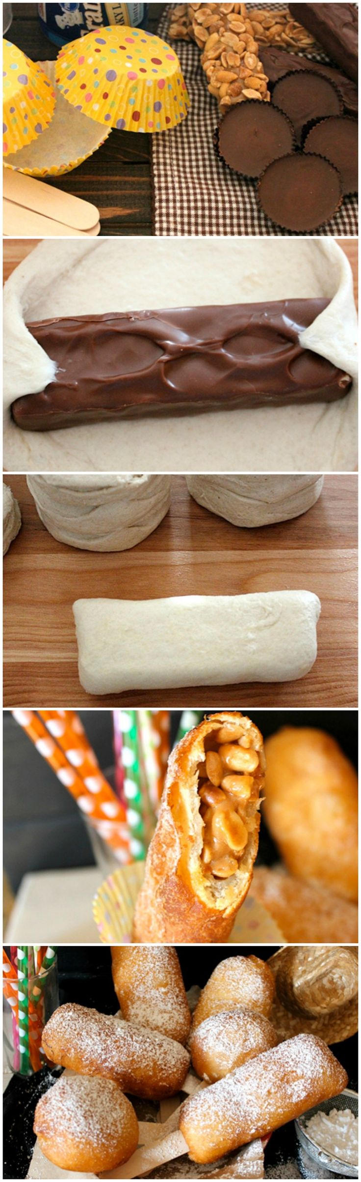 Deep Fried Candy Bars Recipe This is for all of you out there who has a death wish!