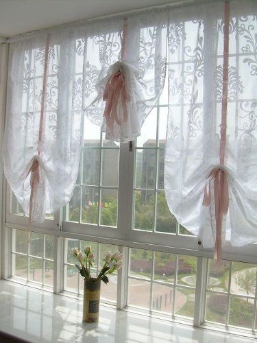 Pin By Kimberly Jo On Decorating Ideas Curtains Tie Up