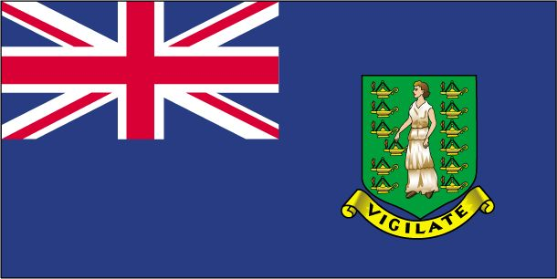 Country Flags: British Virgin Islands Flag