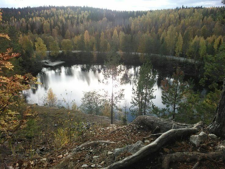Карелия, Рускеала. Фото Е.Кейль