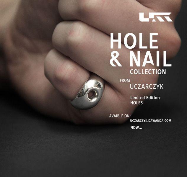 """HOLE_01 """"HOLE & NAIL"""". Edycja limitowana w Uczarczyk na DaWanda.com"""