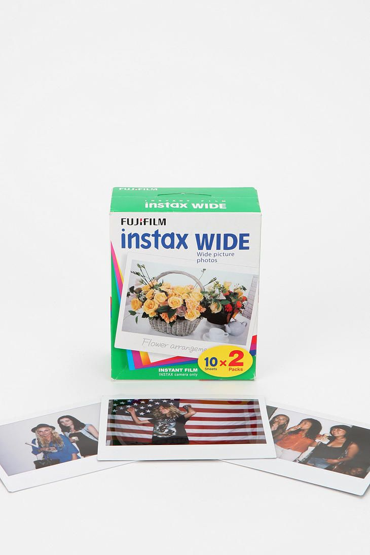 Fujifilm Instax Wide Film - Pack of 2  #UrbanOutfitters