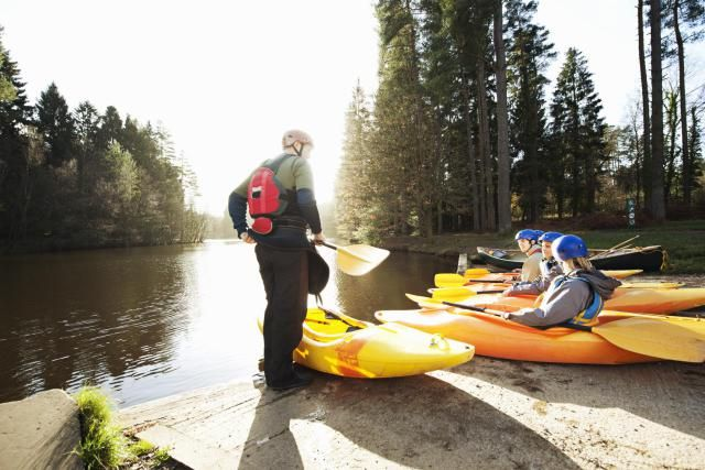 Most people wouldn't think there would need to be instructions on how to sit in a kayak. Of course, those who would think that have probably never gotten into one. The truth is, while properly sitting in a kayak isn't difficult it does require some guidance the first time in the boat.