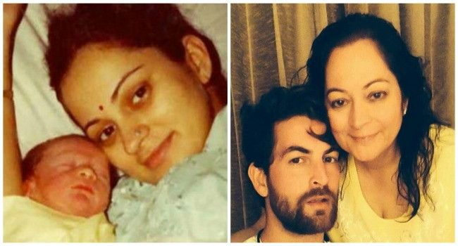 Then And Now Photos Of 9 Bollywood Celebrities With Their Moms