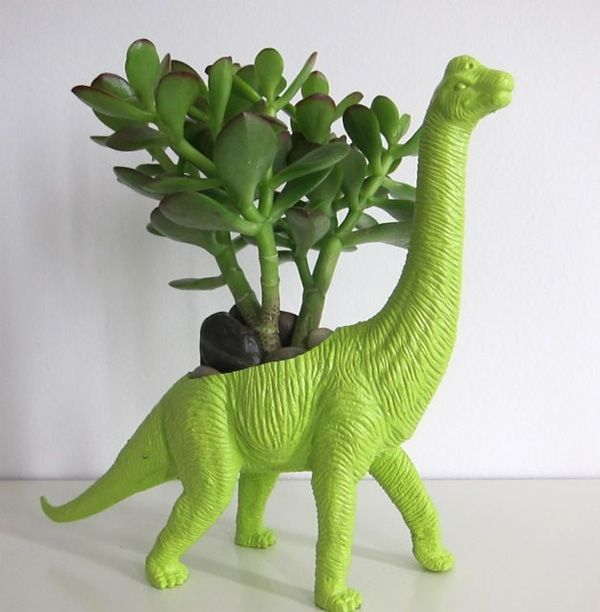 Playful Dinosaur Planters To Cheer Up The Place Lovely