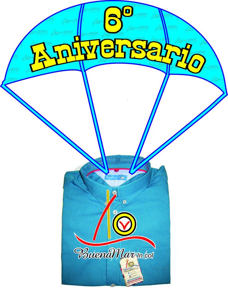 Seis Años con buen viento y #BuenaMar #6AOporto Cartago Valle