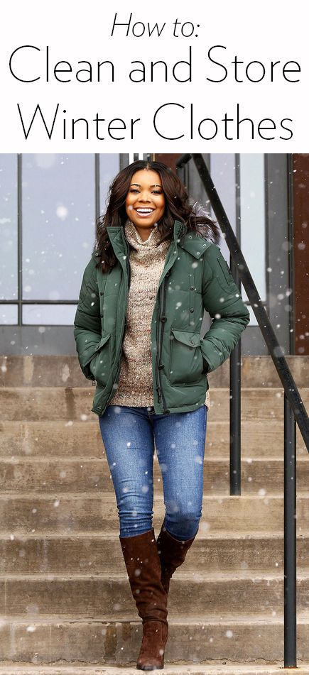 How to clean and store your winter essentials: down jackets, wool and cashmere sweaters and scarves, gloves and dark denim