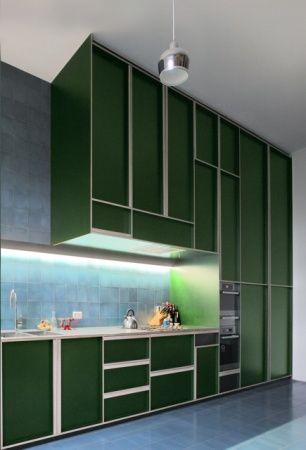 architecten de vylder vinck taillieu #keuken #groen
