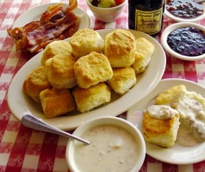 homemade biscuits @ local instituion, the loveless cafe.  (click on the image for the recipe)