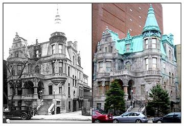 Who knows where and who lived in this Mansion in #Montreal? #ThenandNowMontreal