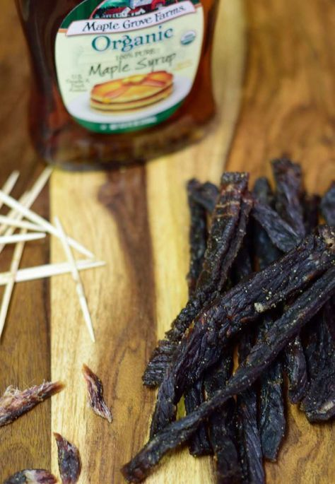 Like sweet jerky? Well, this is your lucky day. This Pure Maple Syrup Jerky will sweeten and stun your taste buds! | Jerkyholic.com
