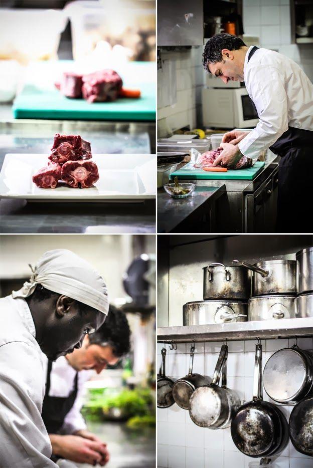 Chef Claudio Favale, Coda alla Vaccinara, by La Veranda Ristorante in Rome, on Vaniglia - Storie di cucina