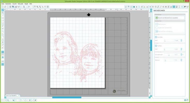 wie du ein foto mit sketch pens in eine zeichnung