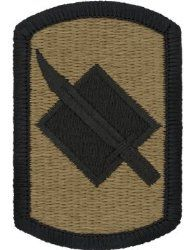 NSN: 8455-01-647-8944 (UNIT PATCH, 39TH INFANTRY BRIGADE, MULTICAM / OCP) - ArmyProperty.com