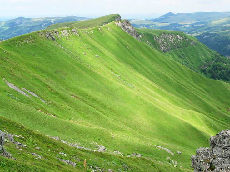 "Le puy de Sancy, Puy-de-Dôme, Auvergne - there is a part here which is called ""le paume"" because standing there is like standing on the palm of God."