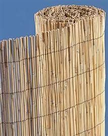 Bamboo Reed Fence - 6' high, 25' wide - could look really nice if attached to nice posts at corners - $69