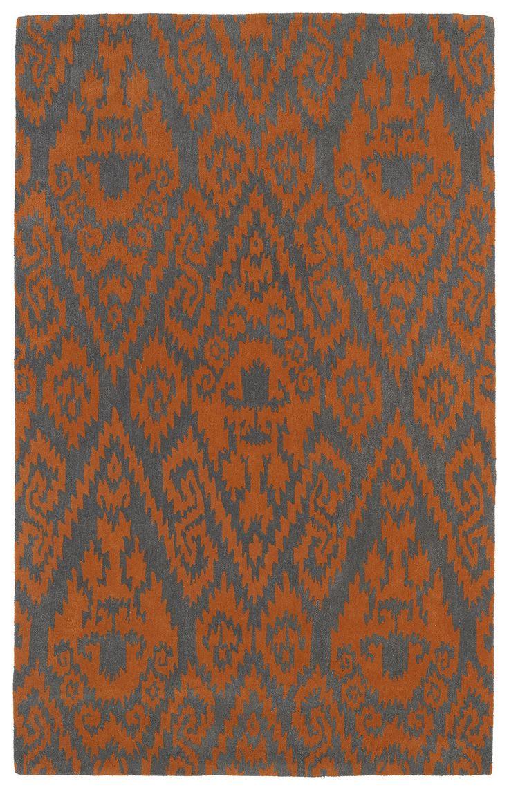 Evolution EVL02-89 Orange/Gray Southwestern Rug  #dreamhome #decorating #instahome #interiorstyling #myhomeisbetterthanyours #floors #floorcoverings #diy #homedecor #myhome