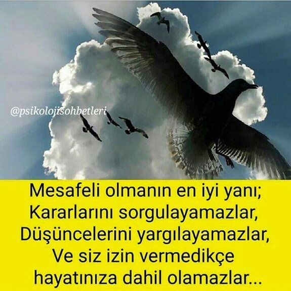#Mesafe'li olmanın en iyi yanı; Kararlarını sorgulayamazlar, Düşüncelerini yargılayamazlar ve sen izin vermedikçe hayatına dahil olamazlar! #kişiselgelişim #şahsiyeteğitimi