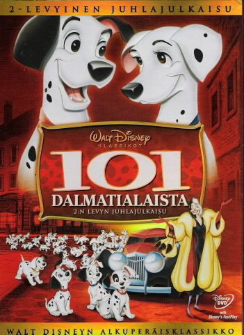 Disney klassikko 17 - 101 Dalmatialaista