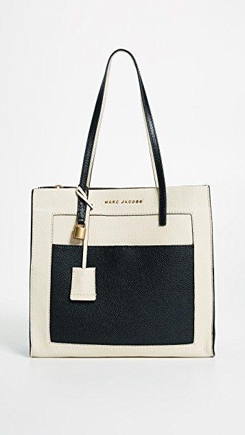 The Grind Colorblocked Tote - Marc Jacobs #tote #colorblock #handbag #designers #affiliatelink