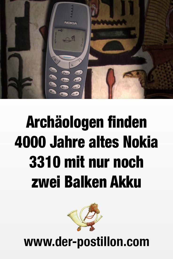 arch ologen finden 4000 jahre altes nokia 3310 mit nur noch zwei balken akku funny humor. Black Bedroom Furniture Sets. Home Design Ideas