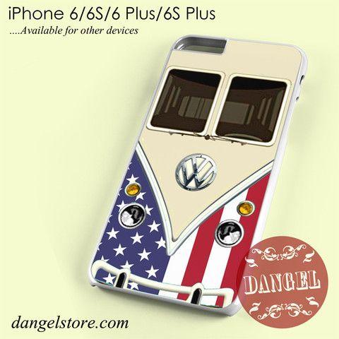 american vw retro bus Phone case for iPhone 6/6s/6 Plus/6S plus