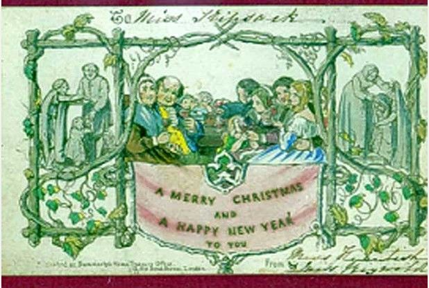 132 best historic westcountry images on pinterest devon for Who commissioned the first christmas card in 1843
