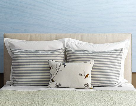 arranging bed pillows Interiors and Decorating Pinterest