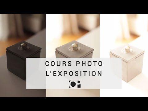 Cours photo en vidéo - L'Exposition