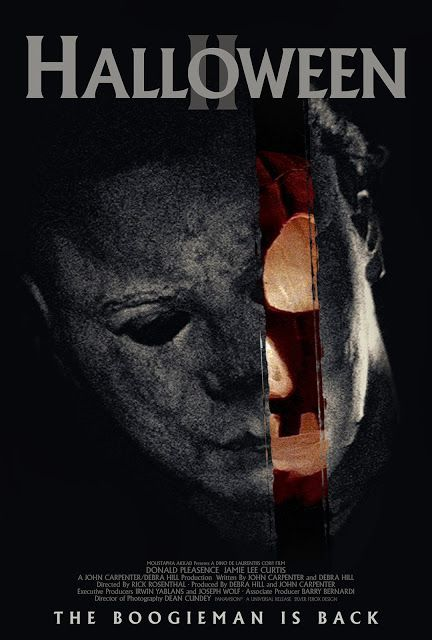 HALLOWEEN II - it is a debate of my own that this movie is better than the second. I'd say they're tied, but damn this is a good sequel!