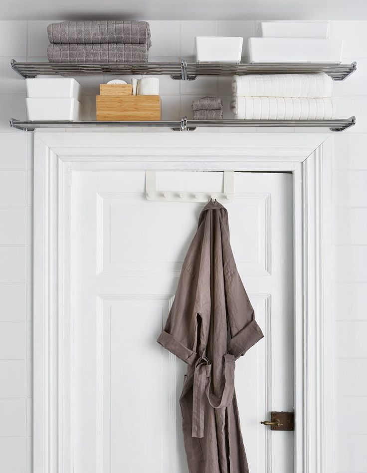 No More Small Bathroom Woes: 6 Places to Add Shelving for More Storage