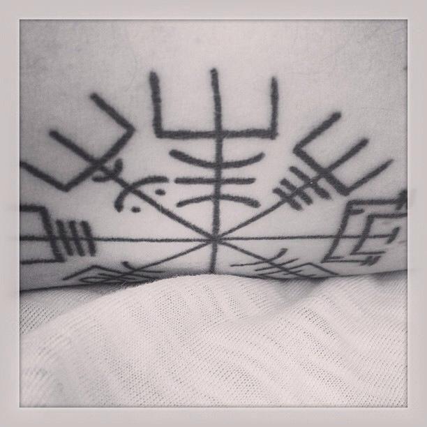 vegvisir, my runic compass.