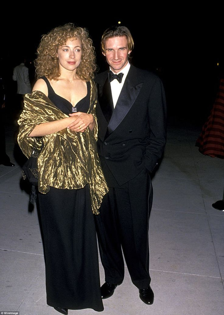 Former flame: Alex's most notable wedding was to Skyfall actor Ralph Fiennes. Ralph and Alex, who met while mastering their acting craft at RADA, tied the knot after 10 years together in 1993, but went their separate ways in 1997