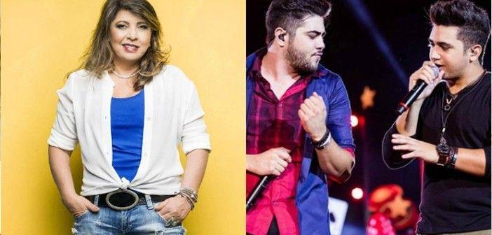Roberta Miranda vai gravar música com Henrique e Juliano