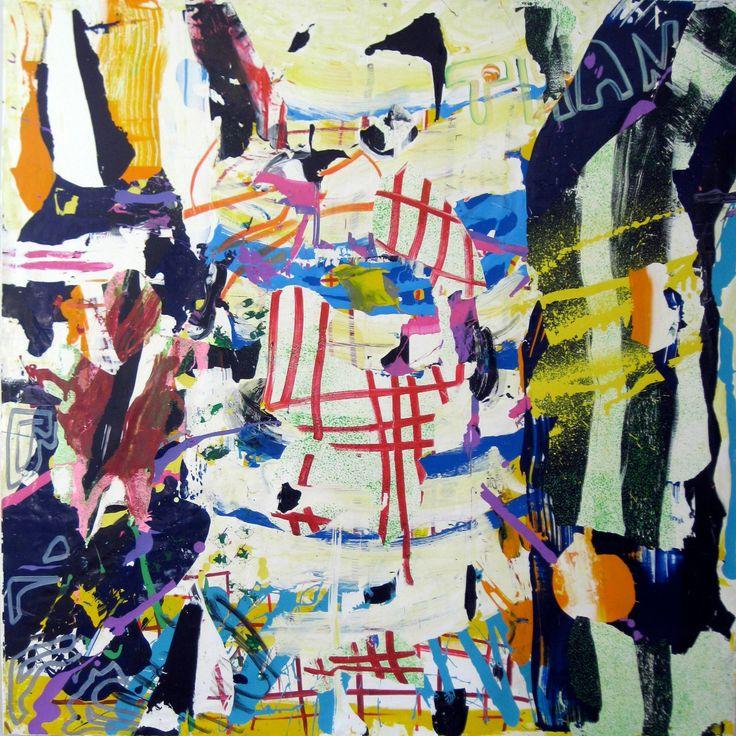 "Saatchi Art Artist: robert tavani; Acrylic 2012 Painting ""Thank You and Good Night"""