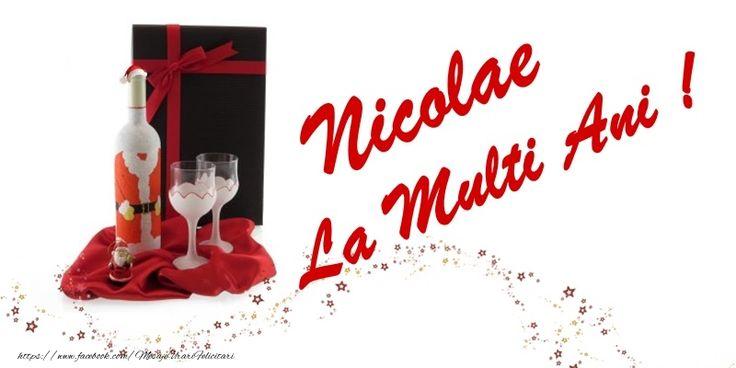 Nicolae La multi ani!