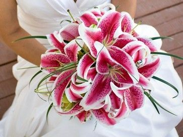 favorite flowers! DEFF, will have these when i get married.: Lily Bouquet, Wedding Ideas, Stargazer Lilies, Bouquets, Wedding Flowers, Dream Wedding, Favorite Flower