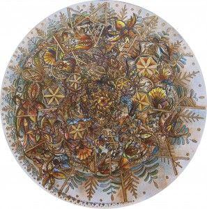 Hunagram Szeretet-Egység Mandala karácsonyi akcióban! (Festmény műalkotások)   Ajándék ötletek