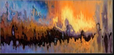 Parade of Souls, Soft Pastel  36 x 49