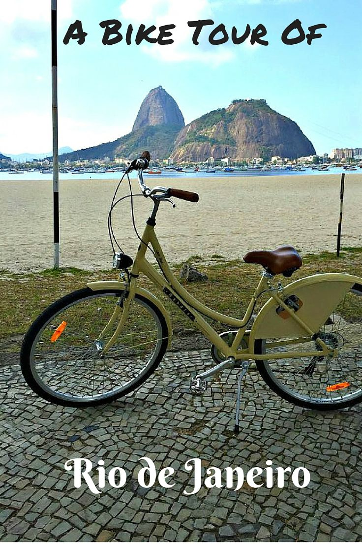 Best way to see Rio de Janeiro? By bike! Rio has wonderful biking paths that will take you to all of the famous beaches and iconic sights that you won't want to miss in Rio. From sugarloaf mountain, christ the redeemer staue and copacabana beach - you can reach it all by bike! Click to find out more! @Venturists