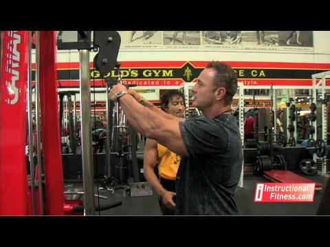 TRICEP: Proper Form - Tricep Rope Push-downs