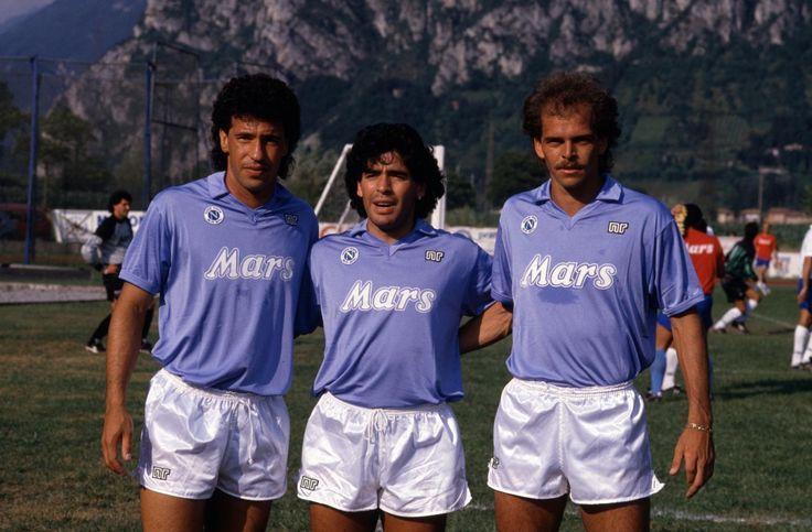 Careca, Maradona et Alemao (Naples)