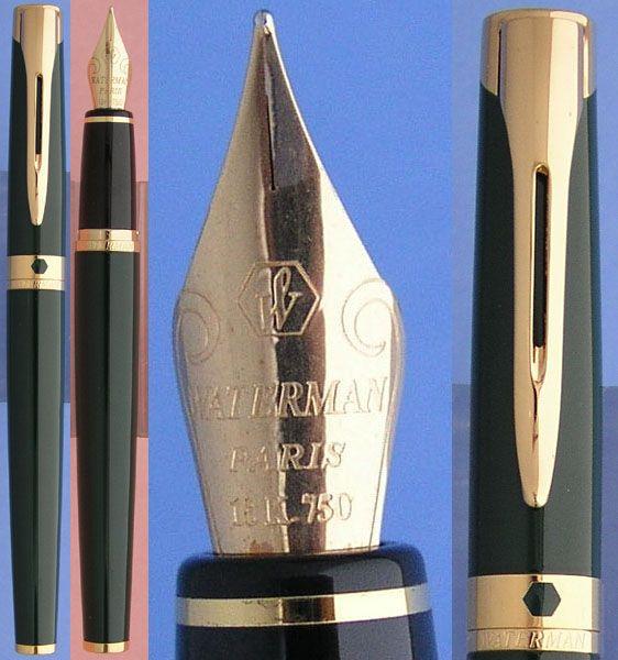 Waterman L'etalon Green fountain pen #waterman, #fountain pen, #L'etalon,