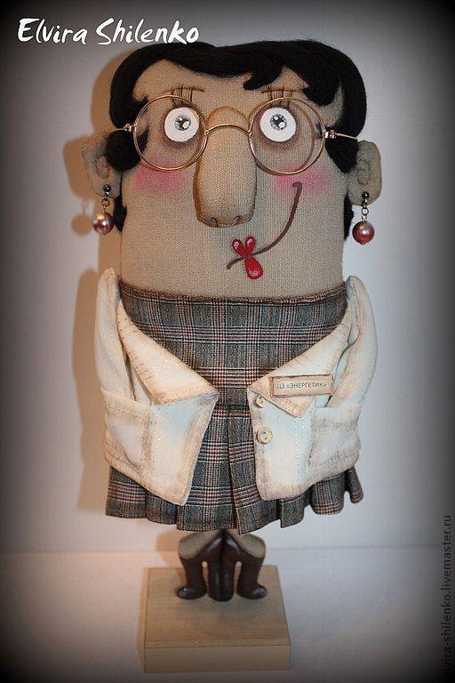 Collectible dolls handmade.  Fair Masters - handmade head physician Bojana Rudolfovna.  Handmade.