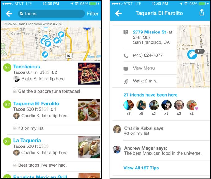 Foursquare Declares Local Search (Yelp And Google) Broken, Vows Fix With Personalization